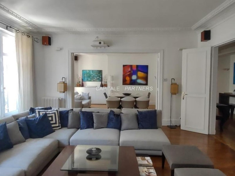 furnished  2 bedrooms Apartment PARIS 8 - 146 m²;